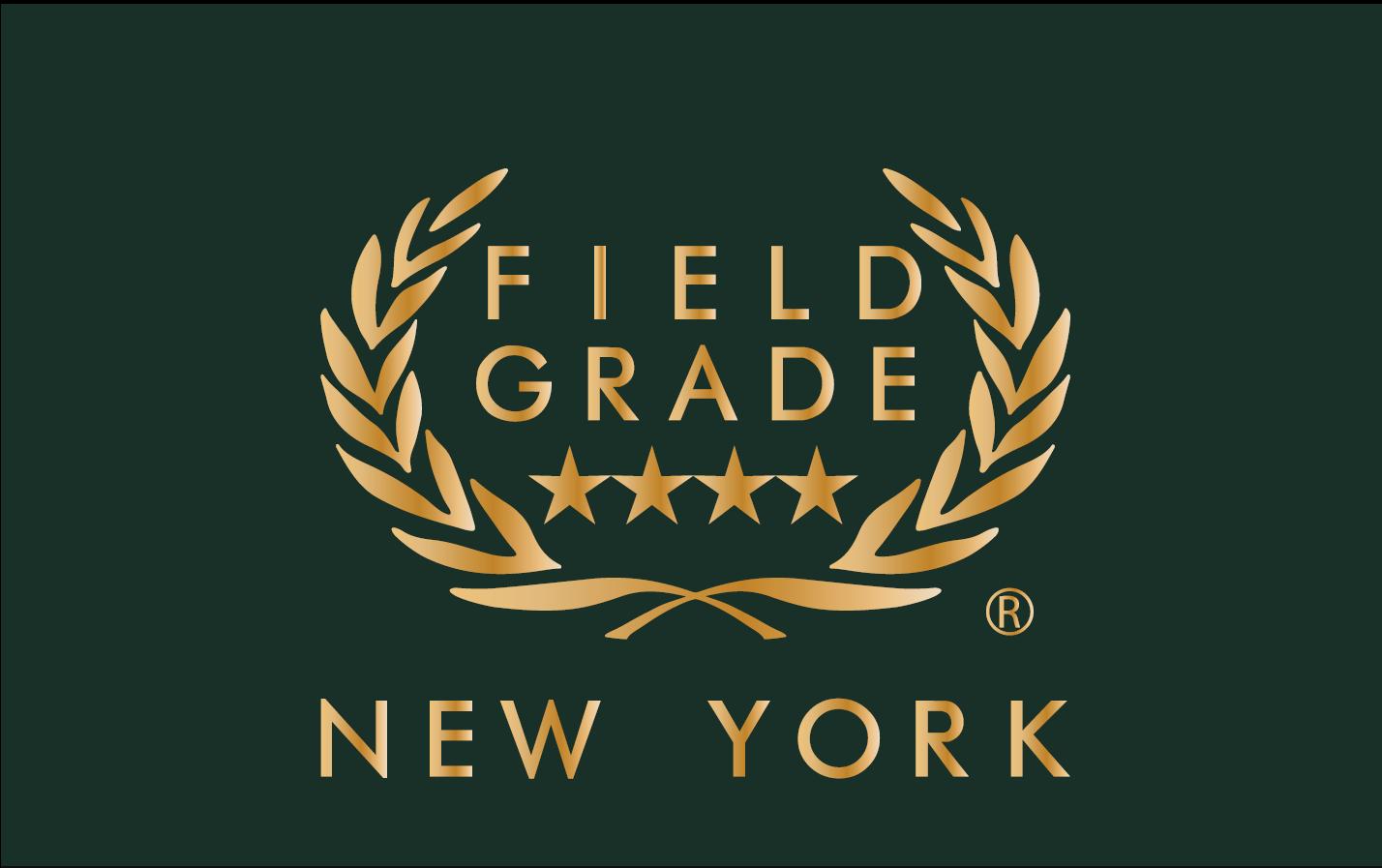 Field Grade Logo Green Gold
